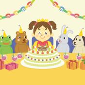 Androidアプリ「わたしの楽しい誕生日」のアイコン