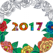 Androidアプリ「Coloring Pages 2017」のアイコン
