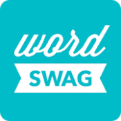 Androidアプリ「Word Swag - Cool fonts, quotes」のアイコン