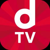 Androidアプリ「dTV 映画、ドラマ、アニメならディーティービー」のアイコン