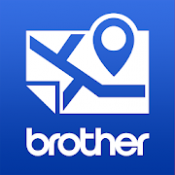 Androidアプリ「Brother 地図プリント」のアイコン