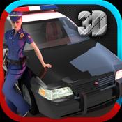 Androidアプリ「警察の車のシミュレータの 3D」のアイコン