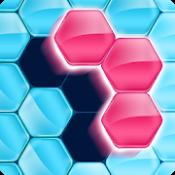 Androidアプリ「ブロック!ヘキサ パズル」のアイコン