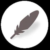 Androidアプリ「日記帳アプリ無料『無地日記』」のアイコン