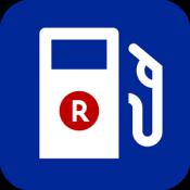 Androidアプリ「楽天ポイント貯まるガソリンスタンド - 楽天カーサービス」のアイコン