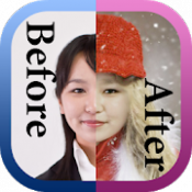 Androidアプリ「簡単変装 顔のせ -collage.click- rear.space」のアイコン