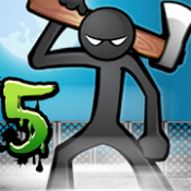 Androidアプリ「Anger of stick 5 : zombie」のアイコン