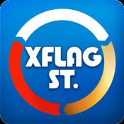 Androidアプリ「エクステ - XFLAG STATION」のアイコン