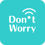 Androidアプリ「痴漢防止アプリ - Don't Worry」のアイコン
