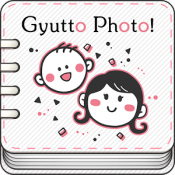 Androidアプリ「Gyutto Photo! ママ向けフォトアルバム作成アプリ」のアイコン