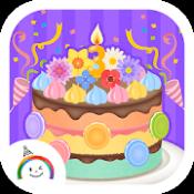 Androidアプリ「パーティーデコレーション(ゆめあるクッキングおままごと)」のアイコン