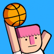 Androidアプリ「Dunkers - Basketball Madness」のアイコン