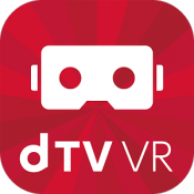 Androidアプリ「dTV VR」のアイコン