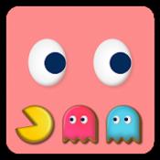 """Androidアプリ「もぐもぐパックマン""""にやりゴーストの逆襲""""(Mogpac)」のアイコン"""