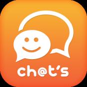 Androidアプリ「チャッツ-近所で出会い~恋活婚活マッチング!人気の無料SNS」のアイコン
