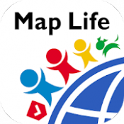 Androidアプリ「Map Life」のアイコン