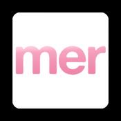 Androidアプリ「mer(メル)-ファッションアプリ」のアイコン