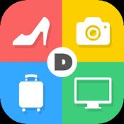 Androidアプリ「DMMいろいろレンタル-ブランド品やデジカメを楽々レンタル-」のアイコン