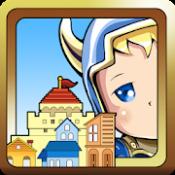 Androidアプリ「ここは勇者村/経営xアクションでまちづくりシミュレーション」のアイコン