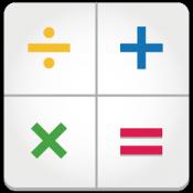 Androidアプリ「電卓 ~無料で消費税計算に便利なルート付き計算機~」のアイコン