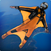 Androidアプリ「WingSuit VR」のアイコン