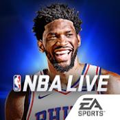 Androidアプリ「NBA LIVE バスケットボール」のアイコン