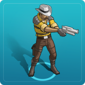 Androidアプリ「Space Marshals 2」のアイコン