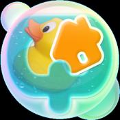Androidアプリ「お水のパズル アキュア アヒルームへようこそ!ダンボー参戦!」のアイコン