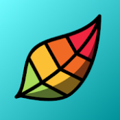 Androidアプリ「Pigment - ぬり絵本」のアイコン