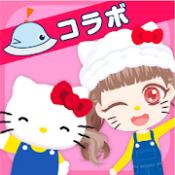 Androidアプリ「おしゃにまるライフ 着せ替えゲームと人形遊び 子供向けのアプリ無料」のアイコン