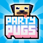 Androidアプリ「Party Pugs: Beach Puzzle GO!」のアイコン