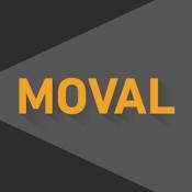 Androidアプリ「映画おすすめAIアプリ(記録メモもできる) - MOVAL」のアイコン