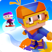 Androidアプリ「Blocky Snowboarding」のアイコン