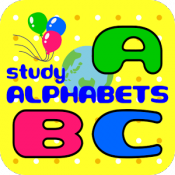 Androidアプリ「ABCスタディー@アルファベット教室」のアイコン