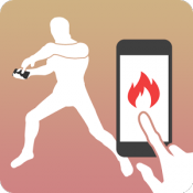 Androidアプリ「タップダイエット -タップだけでカロリーを燃やすアプリ」のアイコン