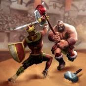 Androidアプリ「剣闘士ヒーローズクラッシュ - ファイティングと戦略ゲーム (Gladiator Heroes)」のアイコン