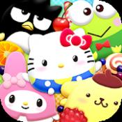 Androidアプリ「ハローキティ ぽちゃだまみれ 〜無料コイン落としゲーム〜」のアイコン