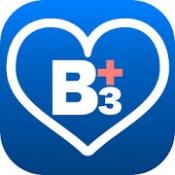 Androidアプリ「B3Plus 血圧、血糖値、体重の管理や生活習慣病予防の為の健康管理アプリ」のアイコン