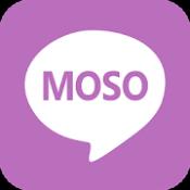Androidアプリ「MOSO - 妄想チャット 架空の友達と会話を楽しめるAIチャットボット」のアイコン