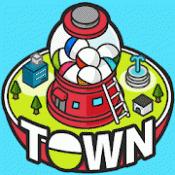 Androidアプリ「カプセルタウン -眺めて育てて街づくり」のアイコン