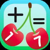 Androidアプリ「さくらんぼ計算で繰り上がり足し算マスター」のアイコン