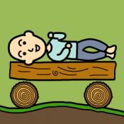 Androidアプリ「ニートが走る~物理演算ランニング」のアイコン