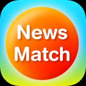 Androidアプリ「NewsMatch 〜興味のあるニュースだけ読めるニュースアプリ〜」のアイコン
