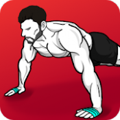 Androidアプリ「自宅トレーニング - 器具は必要なし & 筋トレ」のアイコン