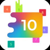 Androidアプリ「頭が良くなるスライド パズル ゲーム 10 (TEN)」のアイコン