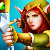 Androidアプリ「Defender Heroes: Castle Defense TD」のアイコン