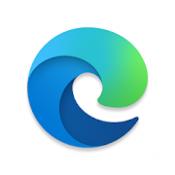 Androidアプリ「Microsoft Edge」のアイコン