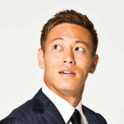 Androidアプリ「Keisuke Honda Official App」のアイコン