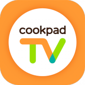 Androidアプリ「cookpadTV -クッキングLIVEアプリ-」のアイコン