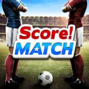Androidアプリ「スコア!マッチ - マルチプレイヤー サッカー」のアイコン